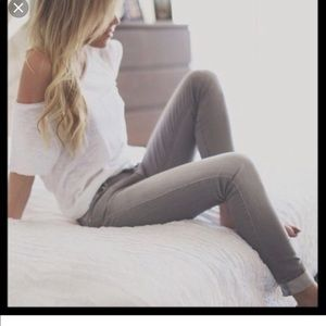 Madewell Rail Straight gray jeans size 28x34 EUC